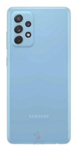 Galaxy A72 4G blu