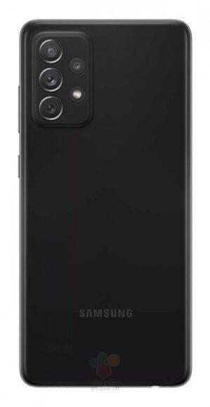 Galaxy A72 4G nero