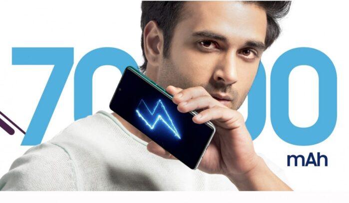 Galaxy F62 batteria