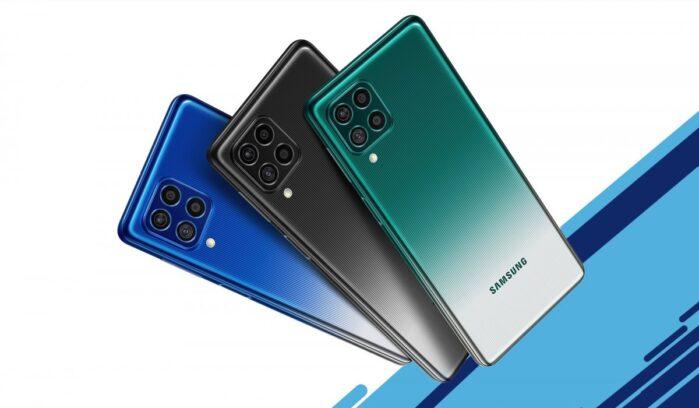 Galaxy F62 ufficiale e colori