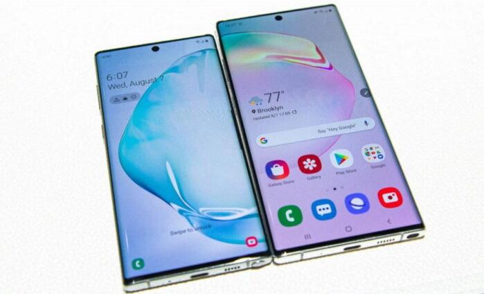 Galaxy Note 9 and gamma Note 10 si aggiornano a febbraio 2021