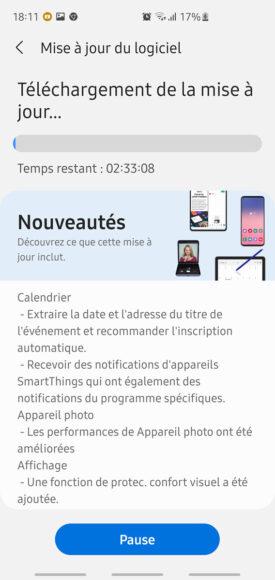 Galaxy S10 aggiornamento ONE UI 3.1 in Europa