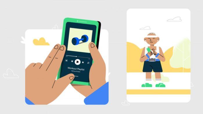 Google TalkBack per non vedenti o ipovedenti