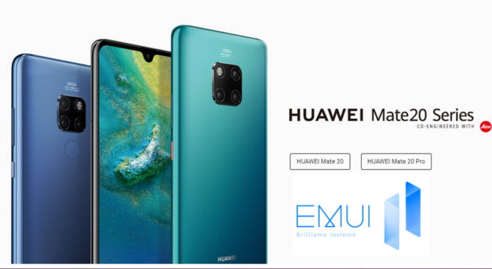 Huawei Mate 20 serie aggiornamento EMUI 11