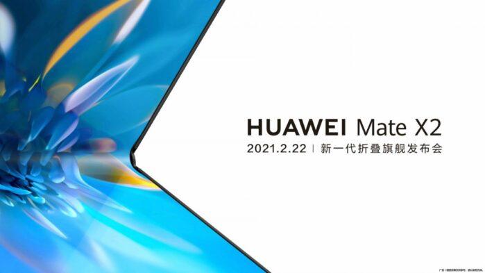 Huawei Mate X2 data annuncio