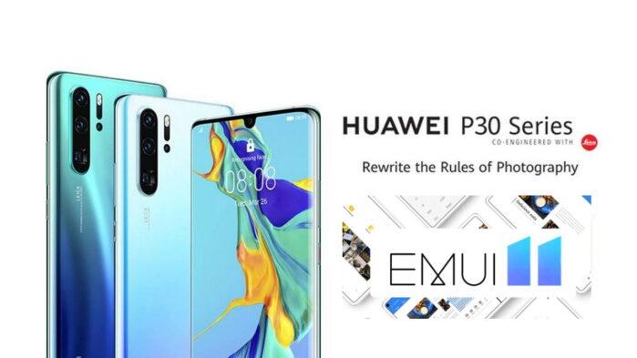 Huawei P30 si aggiorna in Europa alla EMUI 11
