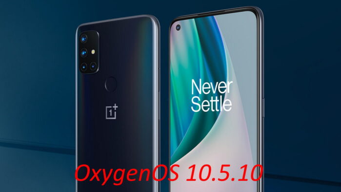OnePLus Nord N10 5G si aggiorna alla OxygenOS 10.5.10