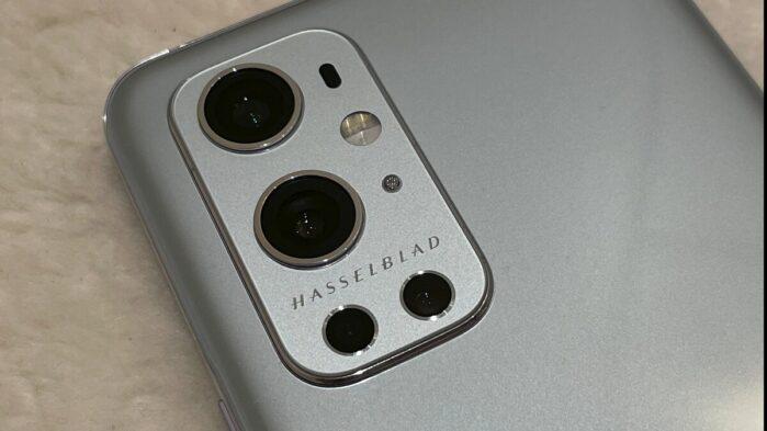 OnePlus 9 Pro Hasselblad fotocamera posteriore
