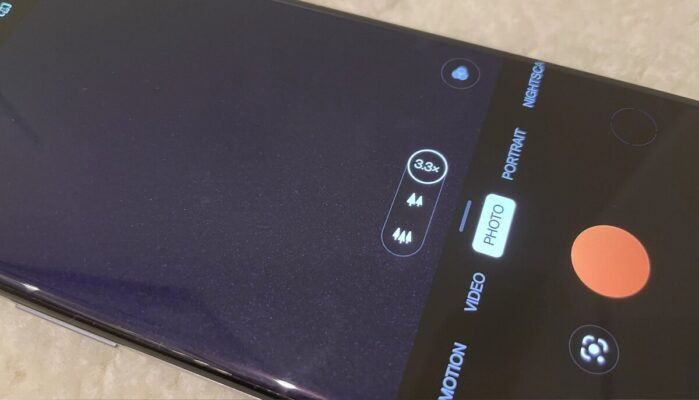 OnePlus 9 Pro interfaccia fotocamera 2