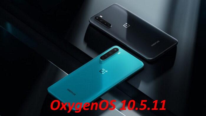 OnePlus Nord aggiornamento OxygenOS 10.5.11