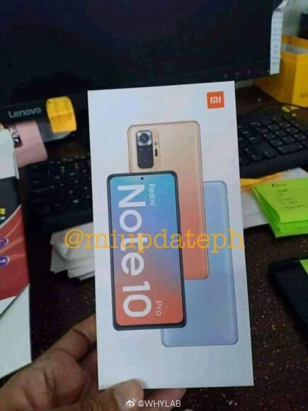 Redmi Note 10 Pro design 2