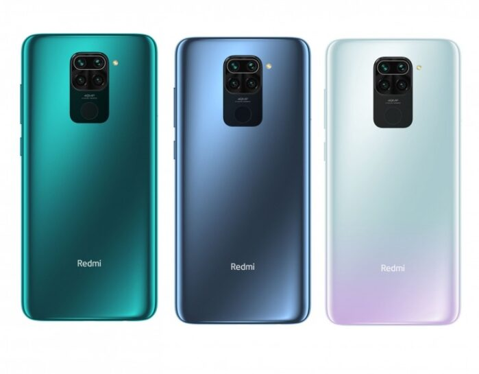 Redmi Note 9 colori design