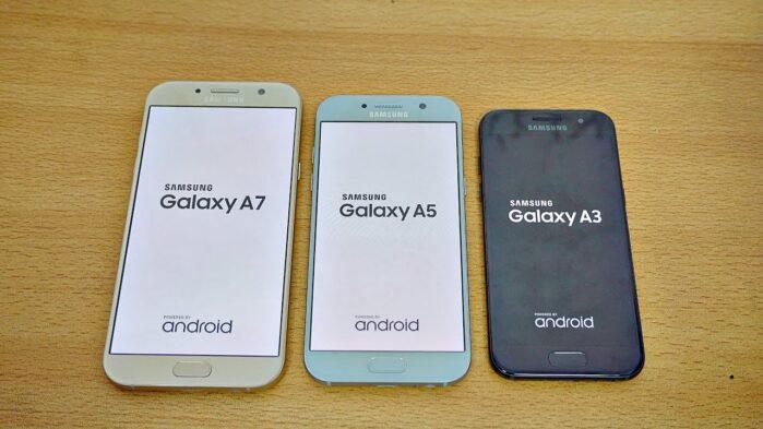Samsung Galaxy A3 A5 e A7 2017 fine aggiornamenti sicurezza Android