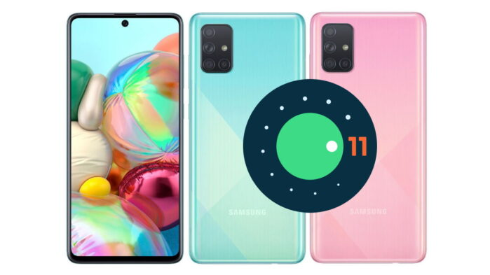 Samsung Galaxy A71 5G Android 11 One UI 3.0