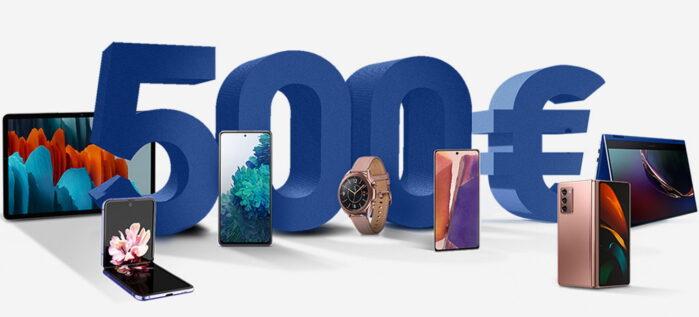 Samsung Galaxy Note 20 etc cashback fino a 500 euro