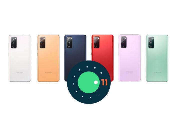 Samsung Galaxy S20 FE ONE UI 3.1 aggiornamento in Italia
