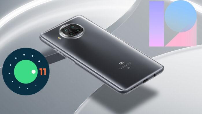 Xiaomi MI 10T Lite Android 11 MIUI 12