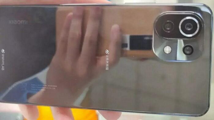 Xiaomi MI 11 Lite immagine dal vivo rumors