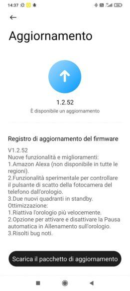 Xiaomi MI Watch alexa italiano