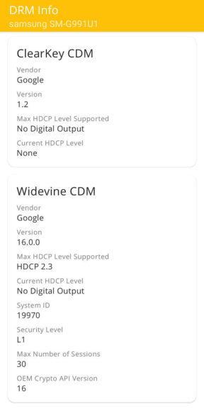 DRM-Info certificazione