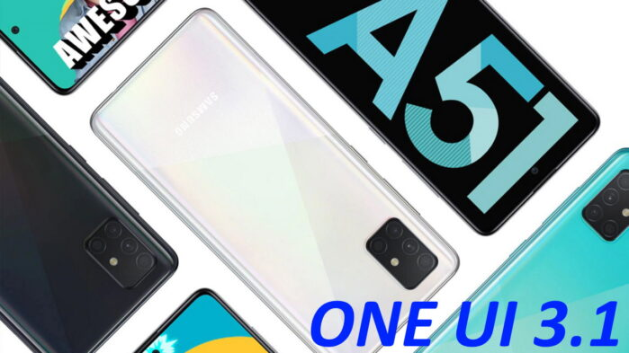 Galaxy A51 aggiornamento ONE UI 3.1 basato su Android 11
