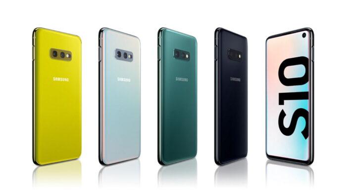 Gamma Galaxy S10 aggiornamento patch sicurezza aprile 2021