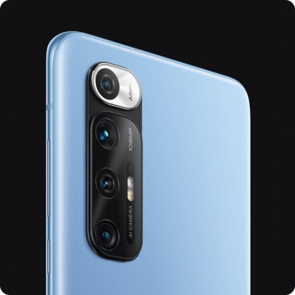 Mi 10S blu