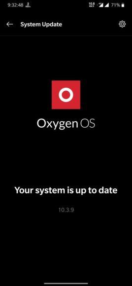 OnePlus 6 e 6T OxygenOS 10.3.9