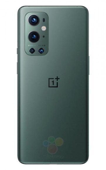 OnePlus 9 Pro verde