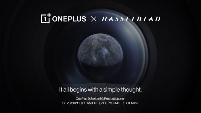 OnePlus 9 serie partnership con Hasselblad