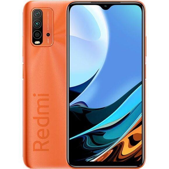 Redmi 9T immagini design colore arancione