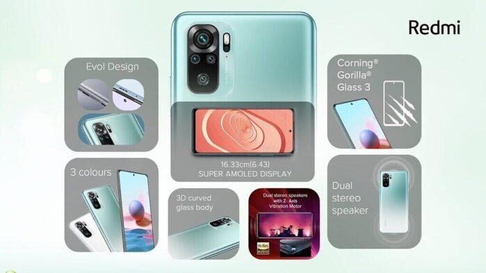 Redmi Note 10 design 1