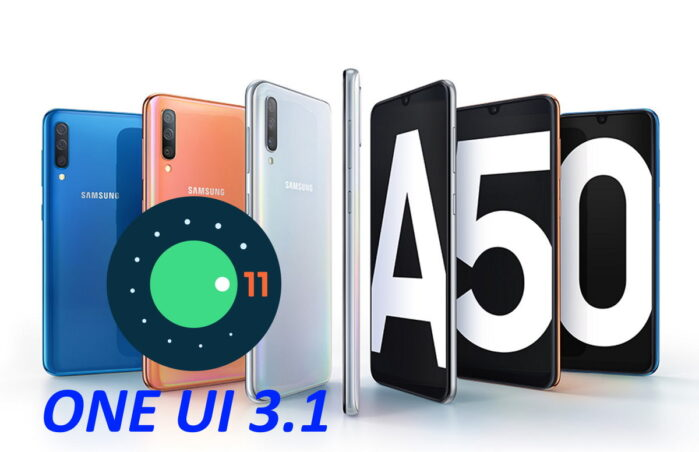 Samsung Galaxy A50 Android 11 ONE UI 3.1