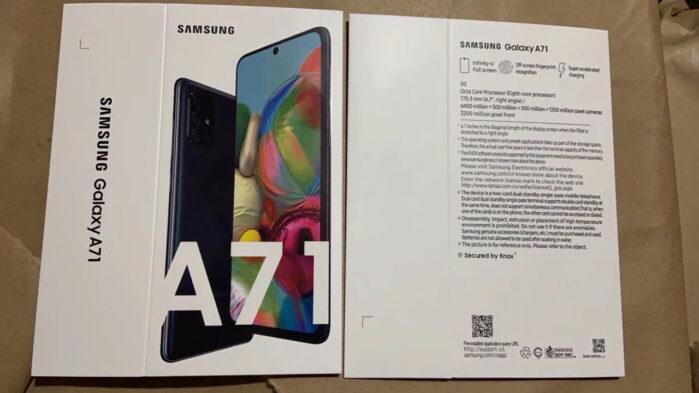 Samsung Galaxy A71 4G miglior prezzo garanzia Italia