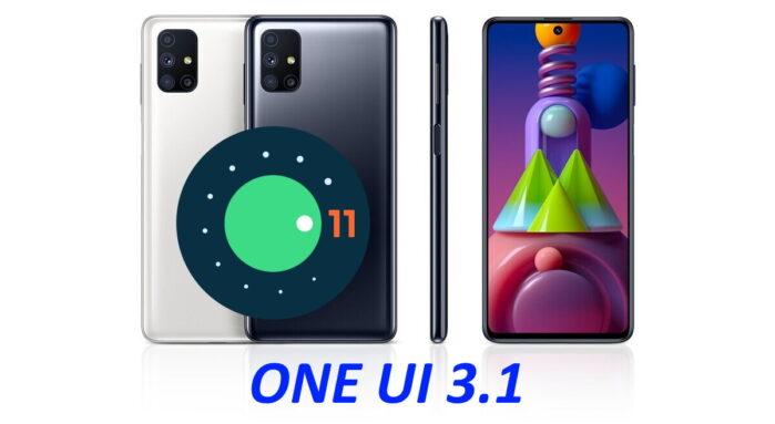 Samsung Galaxy M51 aggiornamento Android 11 ONE UI 3.1