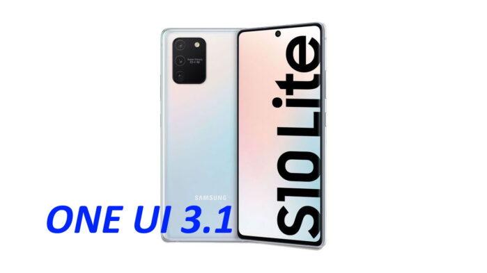 Samsung Galaxy S10 Lite aggiornamento ONE UI 3.1