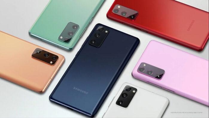 Samsung Galaxy S20 FE aggiornamento firmware funzioni camera Galaxy S21