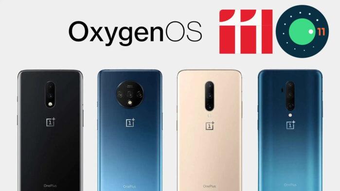 Serie OnePlus 7 e 7T aggiornamento Android 11 OxygenOS 11 stabile dettagli