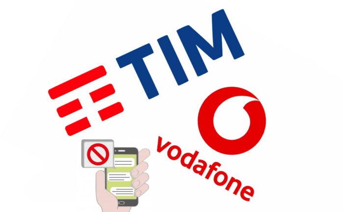TIM e Vodafone disabilitazione Servizi sovraprezzo VAS