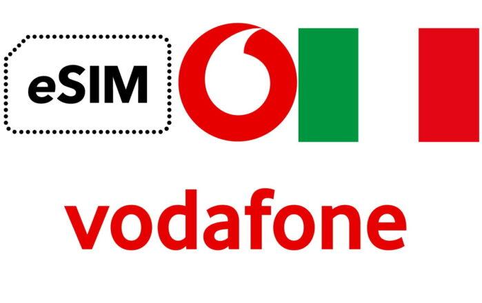 Vodafone eSIM in Italia
