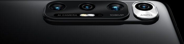 Xiaomi MI 10S camere