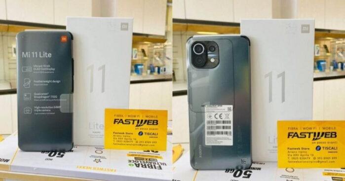 Xiaomi MI 11 Lite 4G già acquistabile in Italia