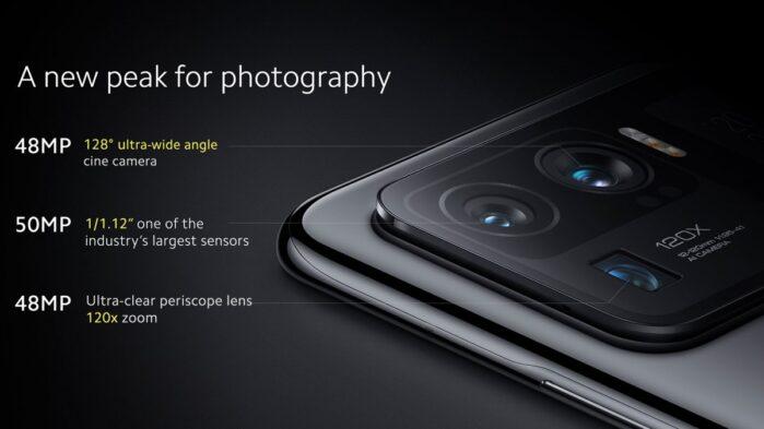 Xiaomi MI 11 Ultra fotocamere 2