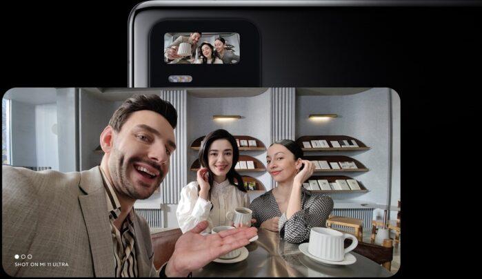 Xiaomi MI 11 Ultra selfie