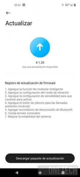 Xiaomi MI Watch Lite aggiornamento versione 4.1.20 le novità