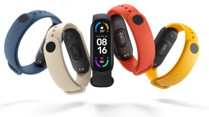 Xiaomi Mi Smart Band 6 colori design