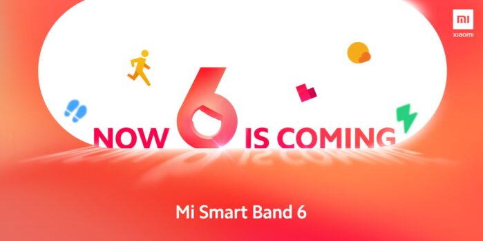 Xiaomi Mi Smart Band 6 data 29 marzo 2021 evento