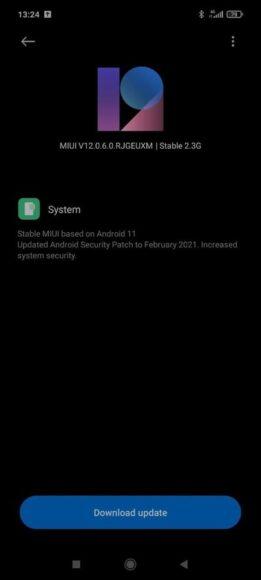 Xiaomi POCO X3 NFC ANDROID 11 beta stabile MIUI 12