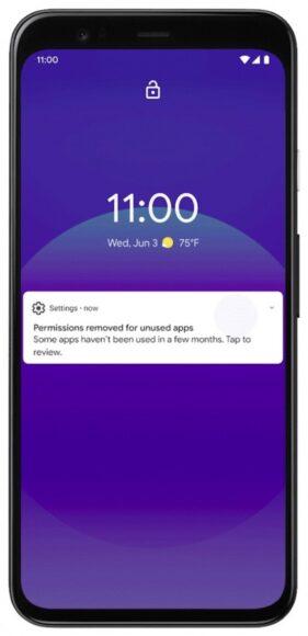 Android 12 applicazioni ibernate 1