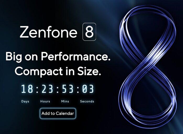 Asus Zenfone 8 data evento ufficiale di presentazione